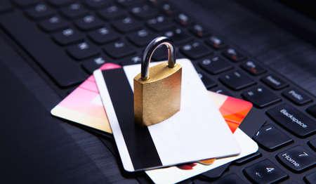 keyboard lock business cards