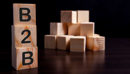 cube wooden B2B