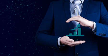 Business growth analysis Archivio Fotografico - 151076629