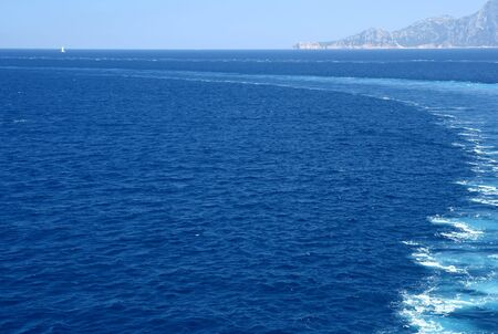 wavelet: Wave behind the car-ferry