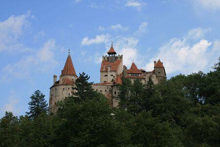 The castle Bran in Romania