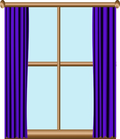 window sill: Window Illustration