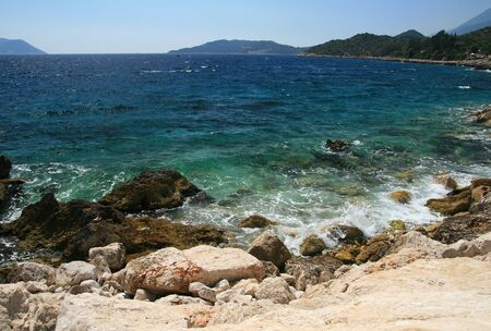 wavelet: Summer photo of sea coast