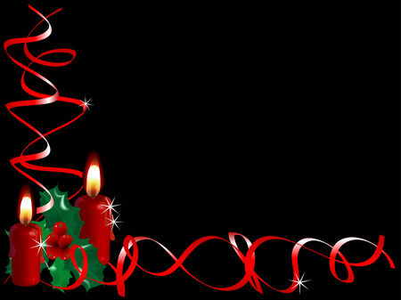 candlestand: Christmas background with the candles