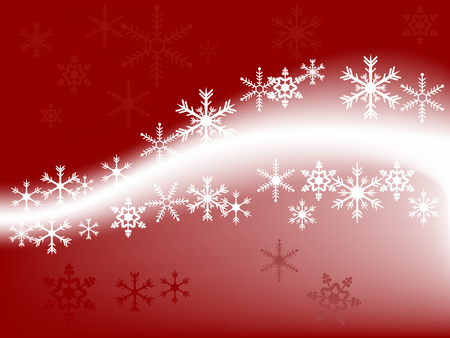 Abstract christmas background with snowflakes Stock Vector - 3865699