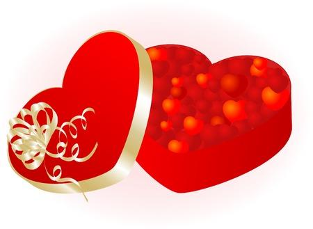 Valentine day background - vector illustration Vector