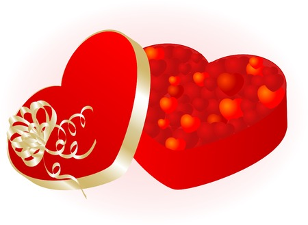 name day: Valentine day background - vector illustration