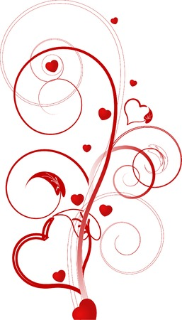 Valentine day background - vector illustration Vector