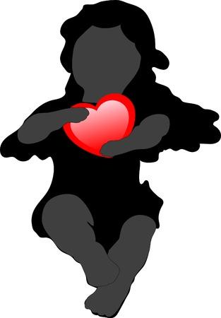 cupido: Cupido - vector illustration Illustration