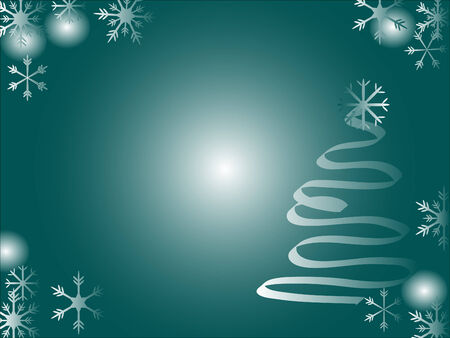 Abstract christmas background - vector background Vector