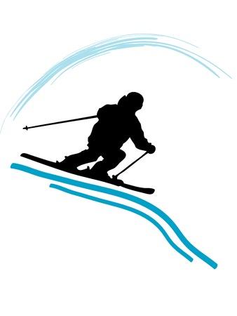 Silhouette sport icon - vector illustration Vector