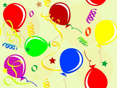 Party seamless pattern - vector illustration Vector