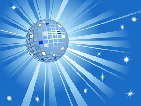 Abstract disco ball - vector illustration Stock Vector - 5719697