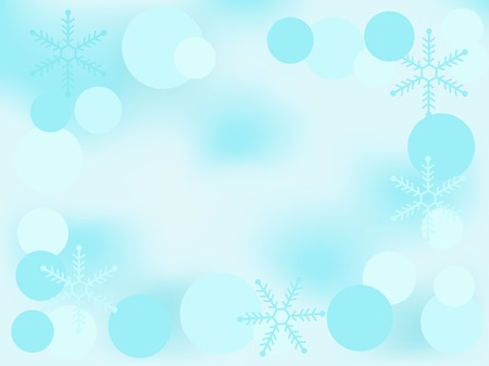 luminary: Christmas background with snowflakes -  illustration