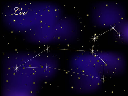 Sky background with stars - vector illustration Stock Vector - 5773864
