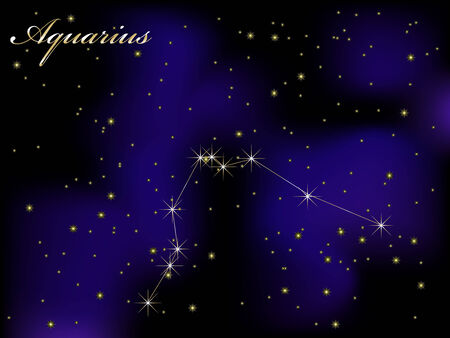 Sky background with stars - vector illustration Stock Vector - 5773862