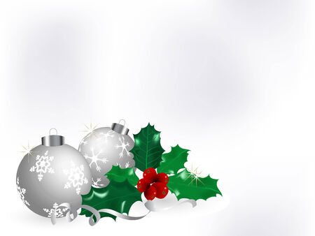 Abstract christmas background - vector illustration Stock Vector - 5773895