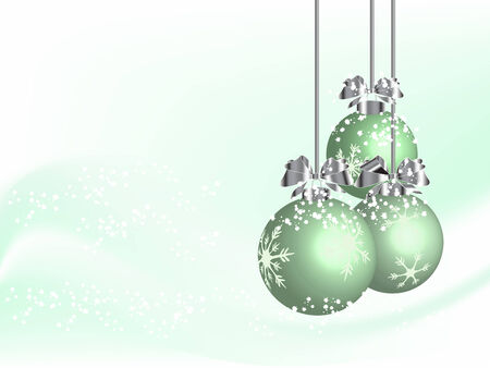 luminary: Abstract christmas background - vector illustration