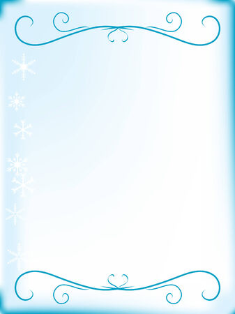 luminary: Abstract christmas background with snowflakes Illustration