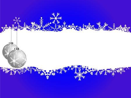 fantasize: Fondo de Navidad de vector con bolas