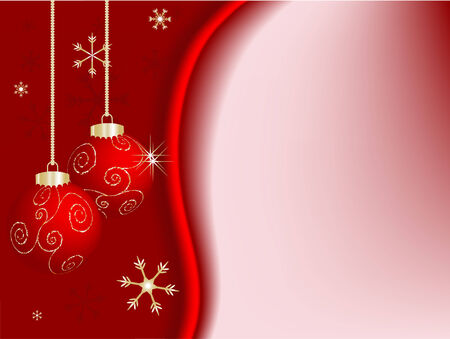 Christmas abstract background  - illustration Vector