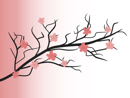 Abstract spring tree  - vector illustration Vector