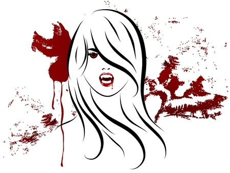 slaughter: Face of the sexy vampire lady