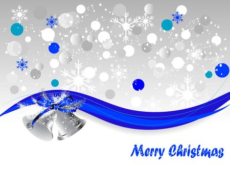 silver bells: Abstract background with silver bells