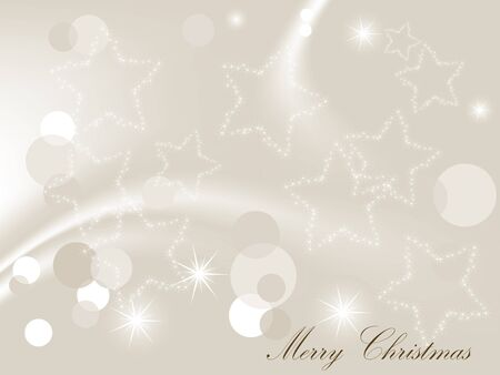luminary: Abstract christmas background with stars Illustration