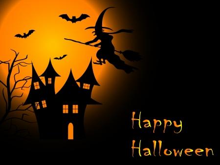 foe: Scary Halloween night Illustration