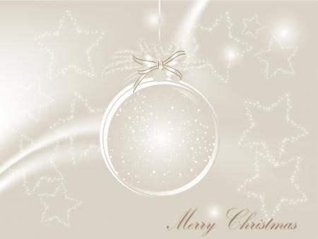 fantasize: De fondo de Navidad con bola de cristal