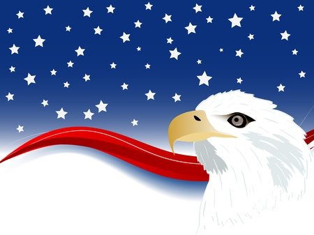 independance day: Independence day background with wave and stars