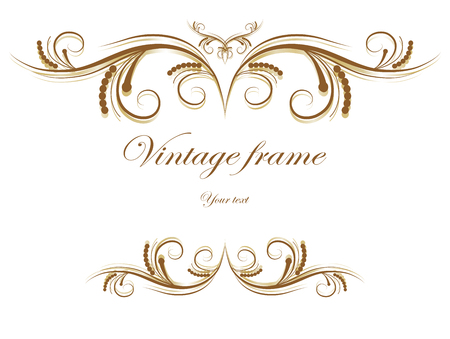 Vintage abstract background - vector illustration.