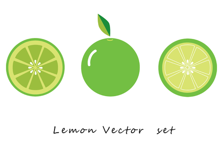 Lemon green vector