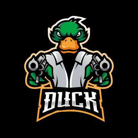 Duck put a gun for esport team