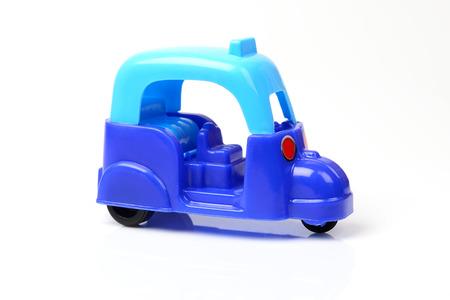 tuk: tuk tuk toy isolated on white background