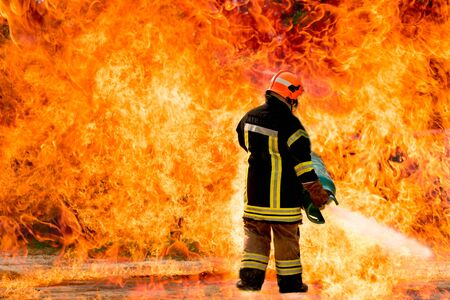 firefighter: Firefighters training