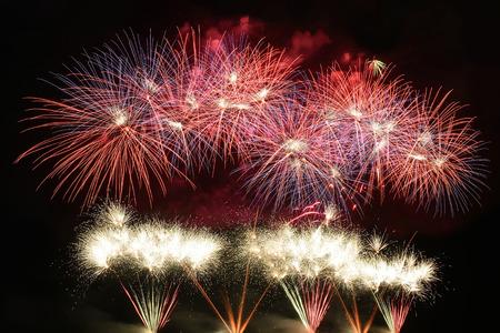 firework display Reklamní fotografie