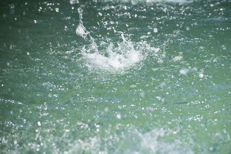 Abstract background water splash Reklamní fotografie