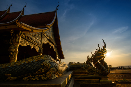 Sirindhorn Wararam Phu Prao Temple (Wat Phu Prao) Public place,Ubonratchatani, Thailand(unseen in Thailand)