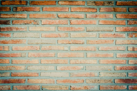 Vintage red brick wall background Stok Fotoğraf - 82603616