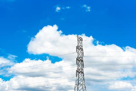 high voltage pole  Reklamní fotografie