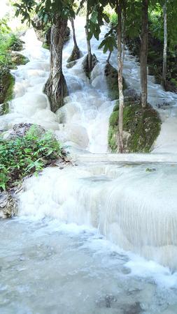 khamin: Waterfall at Thailand Stock Photo