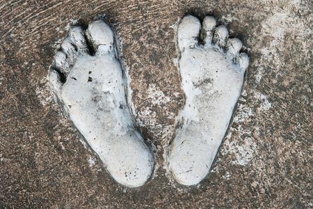 predecessor: Foot Stone Stock Photo