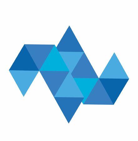 JJ, LL, JL, TL initials polygonal company logo