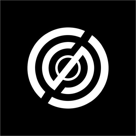 simple CSO, CCS, OS, SO, initials company logo