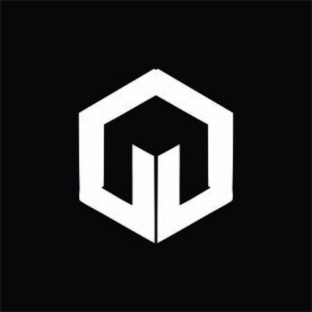 simple M, MG, MO, MD, MOI initials company logo