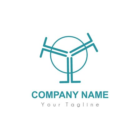 T, Y, TTT, YYY initials company logo