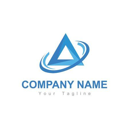 A, CA. OA, CA initials company logo
