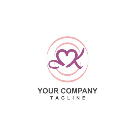online wedding organizer digital proposal logo and vector icon